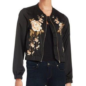 Design Lab Embroidered bomber jacket